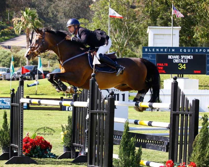 Richard Spooner and Cristallo Score the Win in the $60,000 Grand Prix of California, presented by Equ Lifestyle Boutique - Allison Kroff and Quintus Victorious in the $7,500 Interactive Mortgage Horses 10 & Under Futurity Qualifier