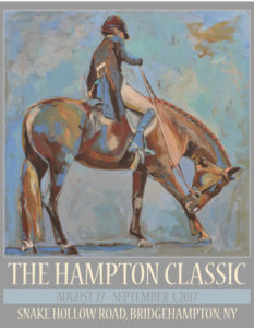 2017 Hampton Classic Poster