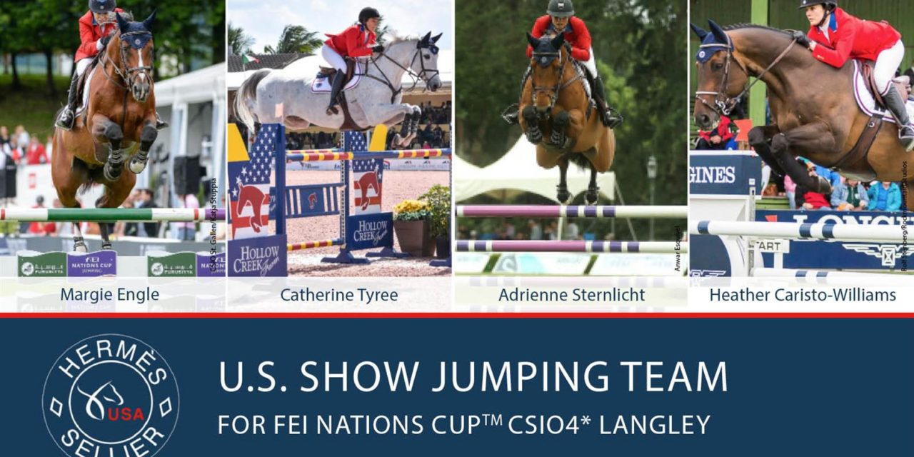 US Equestrian Announces Show Jumping Team for FEI Nations Cup™ CSIO4* Langley